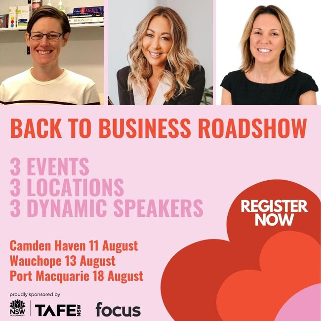 HBWN Back to Business Roadshow